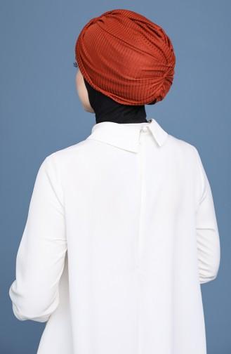 Bonnet Couleur brique 1168-12