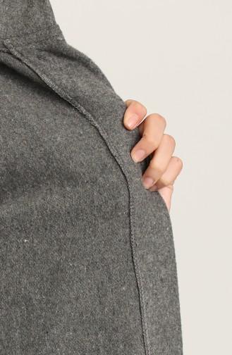 Grau Mantel 7945-02