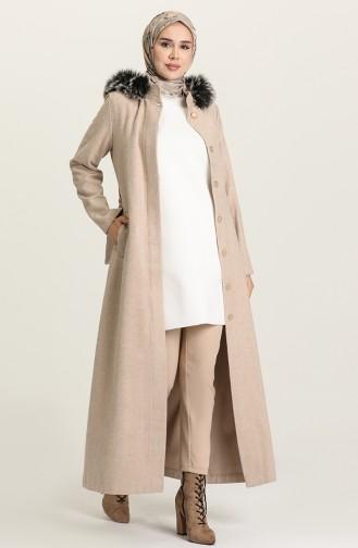 Beige Coat 7945-06