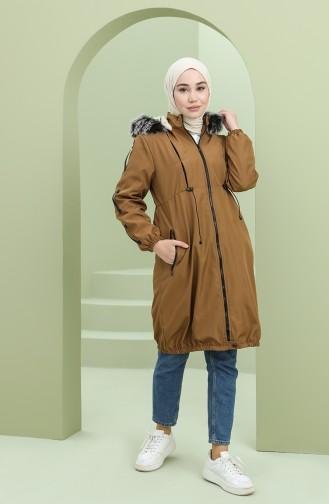 معطف أخضر تبغ 5006-04