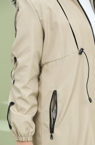 معطف بيج 5006-07