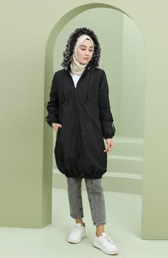 معطف أسود 5006-08