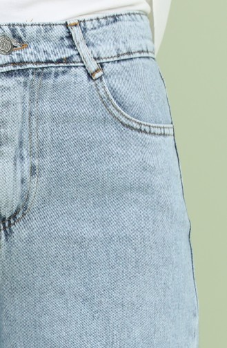 Pantalon Bleu Glacé 22K1101-01