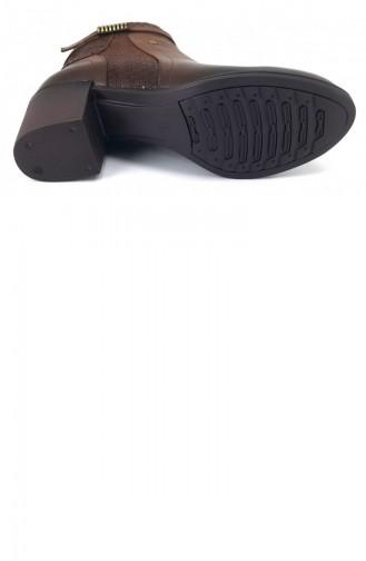 Tan Boots-booties 8292