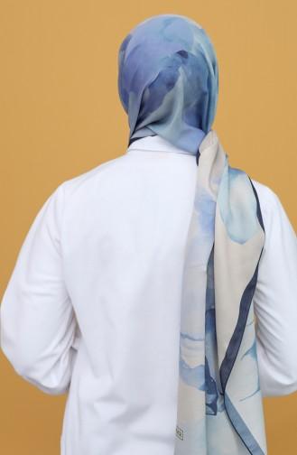 Châle Bleu 90803-13