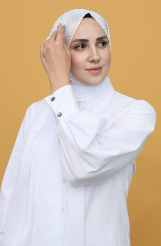 White Sjaal 1042-07