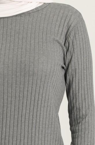 Tunik Pantolon İkili Takım 7734-02 Füme