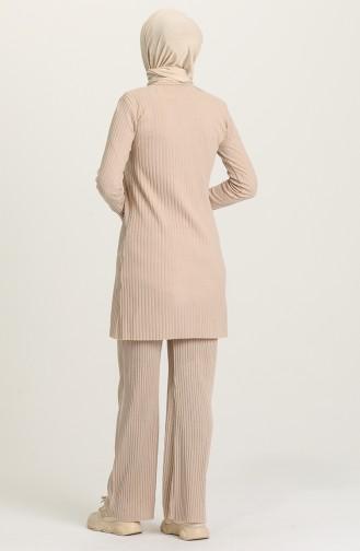 Beige Suit 7734-03