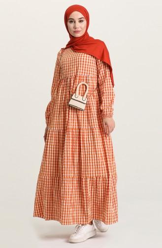 Robe Hijab Tabac 7012-06