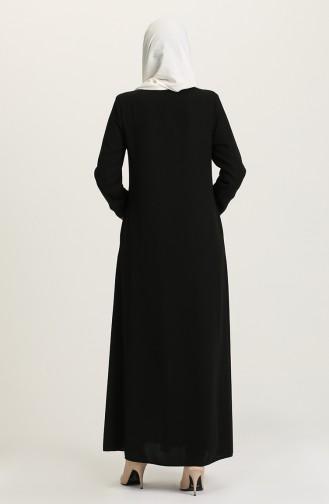 Black Abaya 5018-01