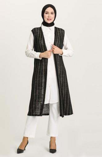 Khaki Waistcoats 8381-02