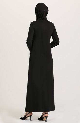 Robe Hijab Bordeaux 3315-07