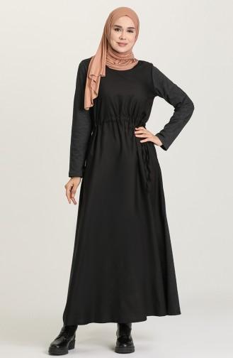 Robe Hijab Antracite 3305-04
