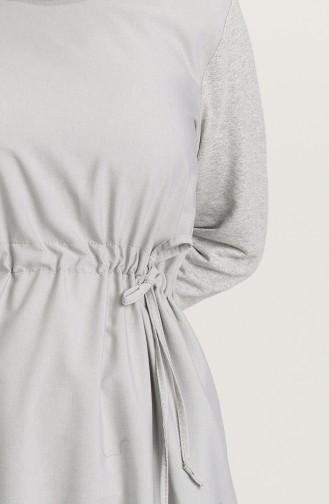 Robe Hijab Gris 3305-05