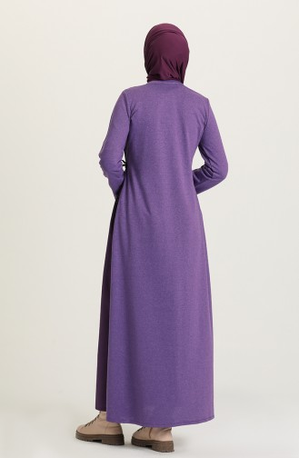 Robe Hijab Pourpre 3305-06
