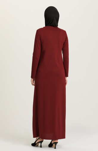 Robe Hijab Bordeaux 3315-05