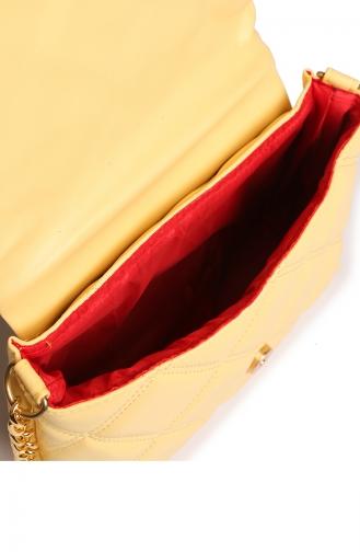 حقيبة كتف أصفر 50Z-05