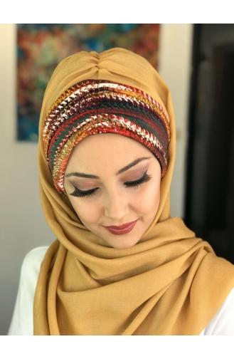 Gold Ready to Wear Turban 26-01