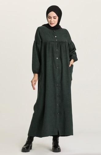 Green Abaya 22K8444-04