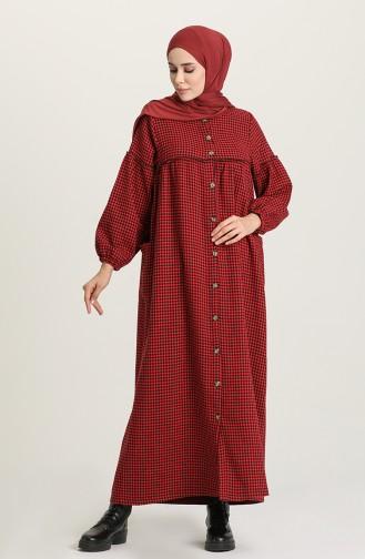 Red Abaya 22K8444-06