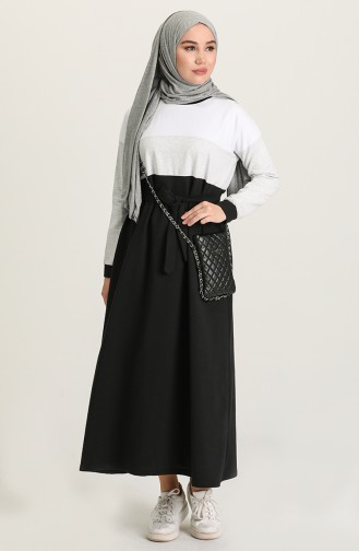 Grau Hijap Kleider 4506-05