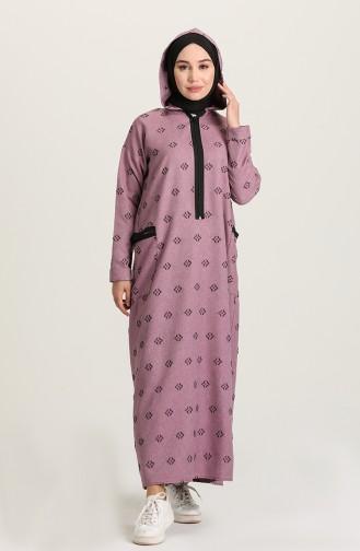 Robe Hijab Lila 22K8461-02