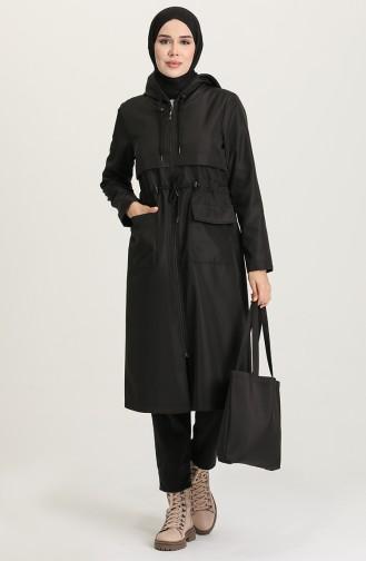 Trench Coat Noir 3000-01