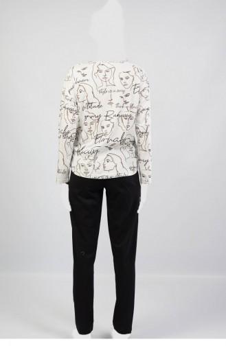 Pyjama Gris 1052912252.GRIMELANJ