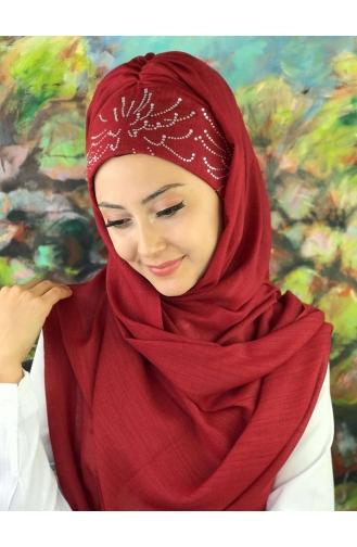 Beige Ready to Wear Turban 3-02