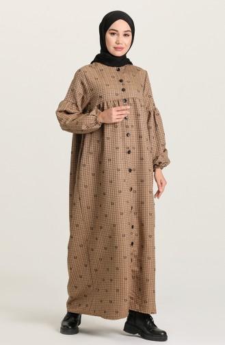Mink Hijab Dress 22k8456-06