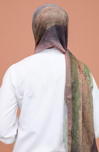 شال أخضر حشيشي 90807-12