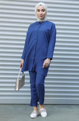 Indigo Suit 1146-01