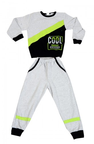 Gray Children and Baby Tracksuit 8450-01