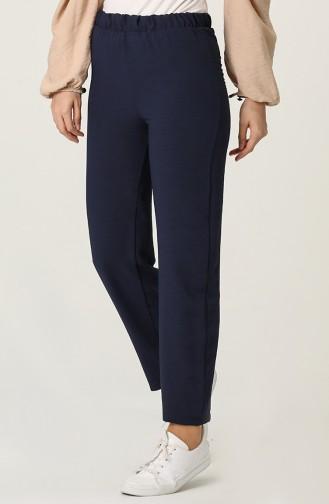 Pantalon Bleu Marine 25514-01
