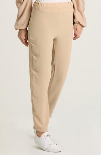 Pantalon Beige 25514-02