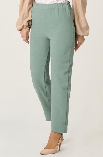 Pantalon Vert noisette 25514-04