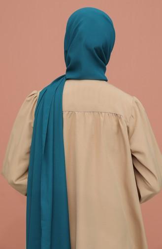 شال أزرق زيتي 90125-21