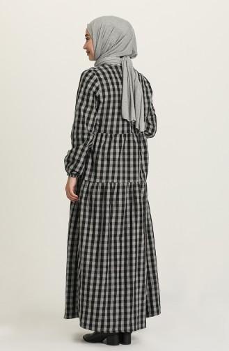 Robe Hijab Gris 1674-06