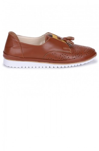 Chaussures de jour Tabac 21YBABAYK000053_TAB