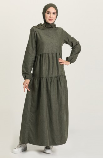 Green İslamitische Jurk 1675-03