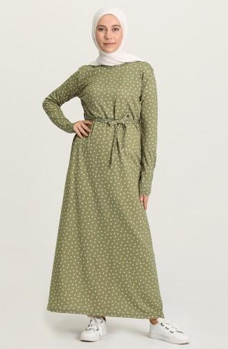 Robe Hijab Khaki 1053-04