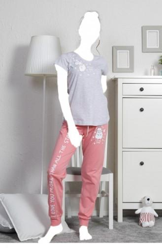 Pyjama Gris 10790000.GRIMELANJ