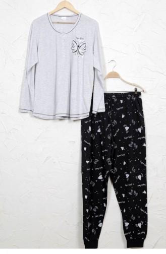 Pyjama Gris 9031660347.GRIMELANJ