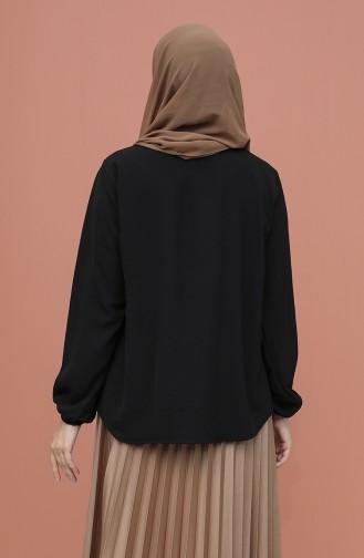 Blouse Noir 1019-01