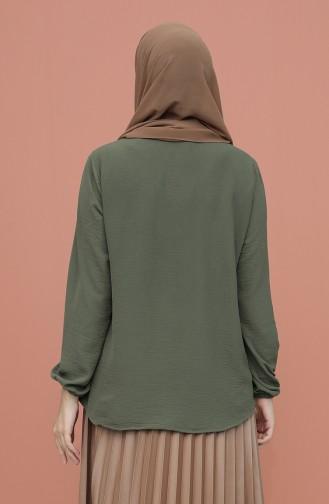 Grün Bluse 1019-03