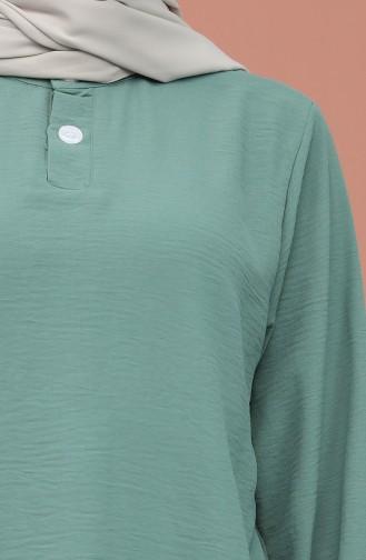 Sea Green Blouse 1019-05