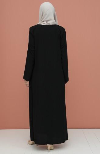 Schwarz Abayas 4305-01