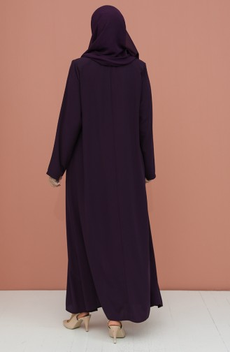 Plum Abaya 4305-03
