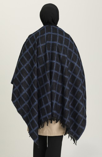 Black Poncho 1047-06