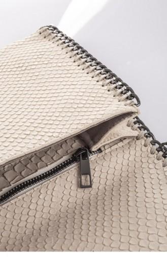 Beige Shoulder Bags 3857
